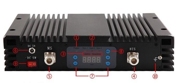 Налаштування підсилювача GSM 2G 3G 4G